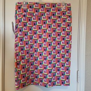 LuLaRoe Patterned Cassie Skirt